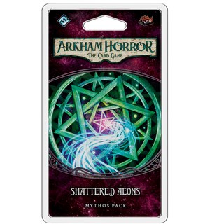 Arkham Horror TCG Shattered Aeons Exp Utvidelse til Arkham Horror Card Game