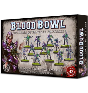 Blood Bowl Team Naggaroth Nightmares Dark Elf Blood Bowl Team