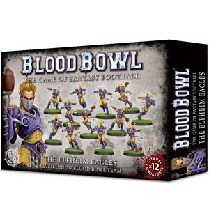 Blood Bowl Team The Elfheim Eagles Elven Union Blood Bowl Team