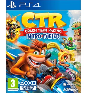 CTR Nitro Fueled PS4 Crash Team Racing