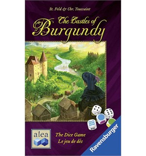 Castles of Burgundy Dice Terningspill