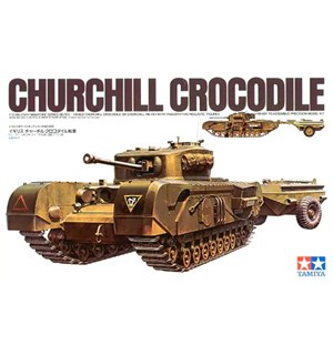 Churchill Crocodile Tamiya 1:35 Byggesett