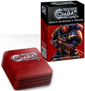 Citadel Combat Cards Space Marines/Chaos Warhammer 40K