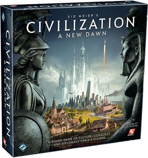 Civilization A New Dawn Brettspill Sid Meier