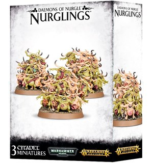Daemons of Nurgle Nurglings Warhammer 40/Age of Sigmar