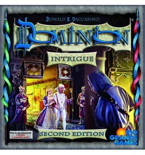 Dominion Intrigue Second Edition Engelsk