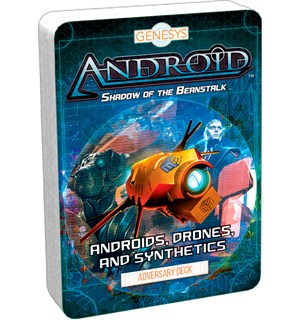 Genesys Android Drones & Synthetics Adversary Deck for Genesys RPG