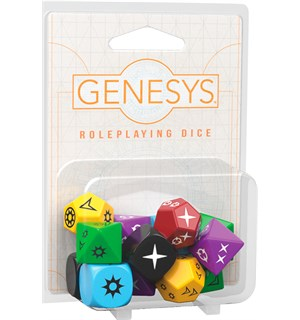 Genesys RPG Dice Pack Ekstra terningsett for Genesys