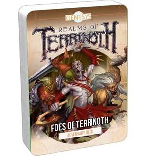 Genesys Terrinoth Foes of Terrinoth Adversary Deck - Realms of Terrinoth