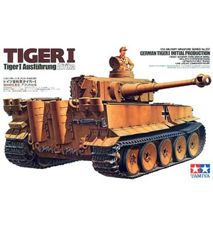German Tiger I Initial Production Tamiya 1:35 Byggesett