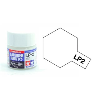Lakkmaling LP-2 White Tamiya 82102 - 10ml