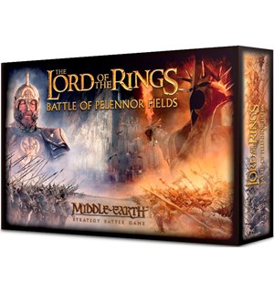 Lord of the Rings Battle of Pelennor Fie Starter Set m/ 84 miniatyrer + regler