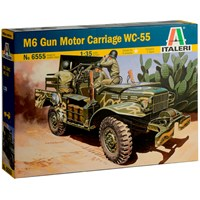 M6 Gun Motor Carriage WC-55 Italeri 1:35 Byggesett