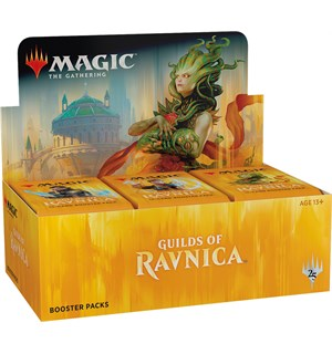 Magic Guilds of Ravnica Display 36 pakker á 15 kort per pakke