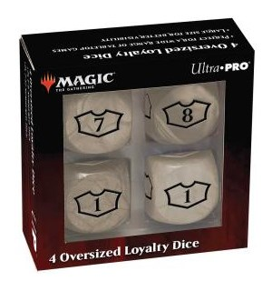 Magic Loyalty Dice 4 D6 Dice Set - White