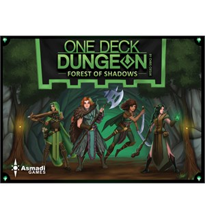 One Deck Dungeon Forest of Shadows Exp Utvidelse til One Deck Dungeon