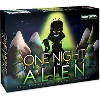 One Night Ultimate Alien Kortspill