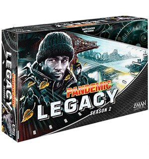 Pandemic Legacy Black Season 2 Brettspil