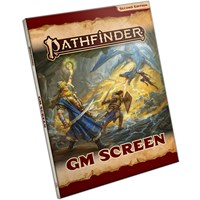 Pathfinder 2nd Ed GM Screen Landscape Second Edition RPG