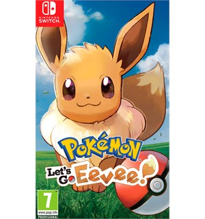 Pokemon Lets Go Eevee Switch
