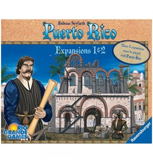 Puerto Rico Expansion 1 & 2 New Buildings og The Nobles
