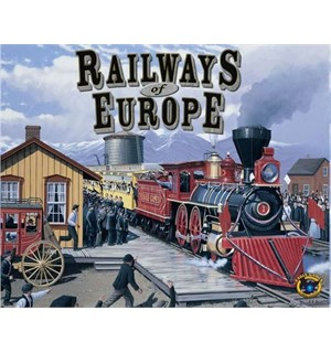 Railways of Europe Expansion Utvidelse til Railways of the World