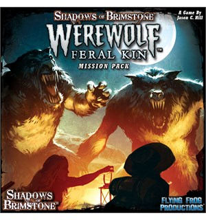 Shadows of Brimstone Werewolf Feral Kin Utvidelse til Shadows of Brimstone