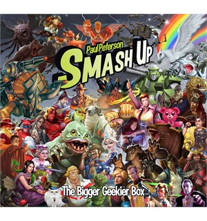 Smash Up Bigger Geekier Box Oppbevaringsboks