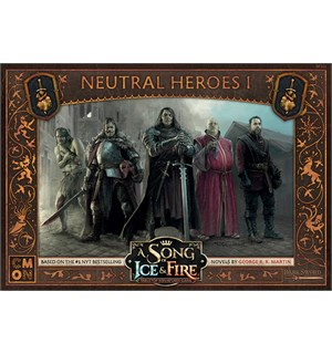 Song of Ice & Fire Neutral Heroes 1 Exp Utvidelse til A Song of Ice & Fire