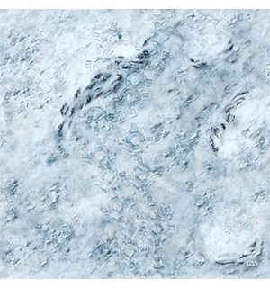 Spillmatte Star Wars Legion Hoth 91 x 91 cm Playmat / Gamemat