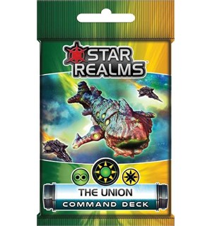 Star Realms The Union Expansion Command Deck til Star Realms