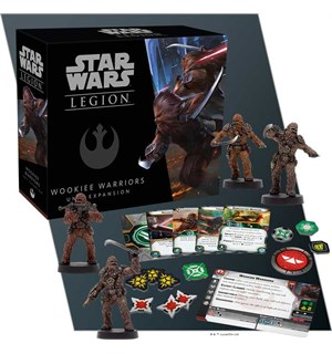 Star Wars Legion Wookie Warriors Exp Utvidelse til Star Wars Legion