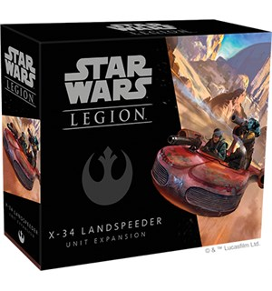 Star Wars Legion X-34 Landspeeder Exp Utvidelse til Star Wars Legion