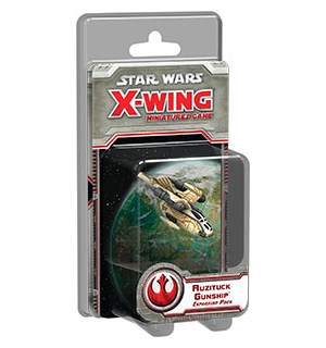 Star Wars X-Wing Auzituck Gunship Exp Utvidelse til Star Wars X-Wing
