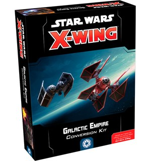 Star Wars X-Wing Galactic Empire Kit Conversion Kit - Bruk figurer fra 1st Ed