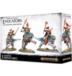 Stormcast Eternals Evocators on Celestia Age of Sigmar Celestial Dracolines
