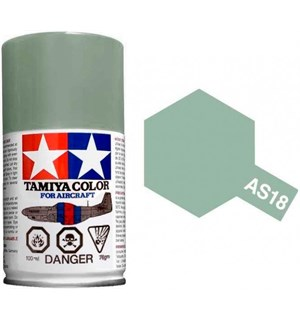 Tamiya Airspray AS-18 Light Grey Tamiya 86518 - 100ml