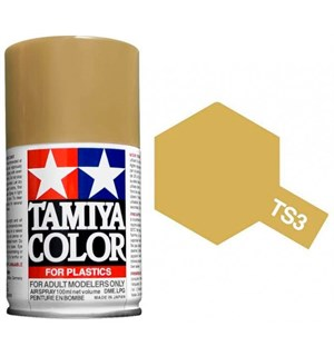 Tamiya Airspray TS-3 Dark Yellow Tamiya 85003 - 100ml