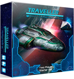 Traveller 2-Player Starter Set Kortspill Customizable Card Game