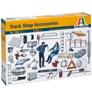 Truck Shop Accessories No: 764 Italeri 1:24 Byggesett