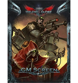 Warhammer 40K RPG GM Screen Wrath & Glory