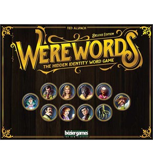 Werewords Deluxe Edition Kortspill