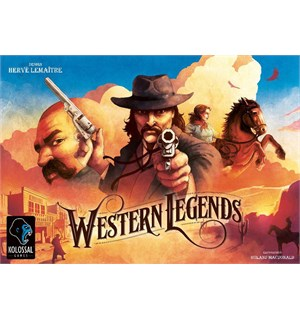 Western Legends Brettspill