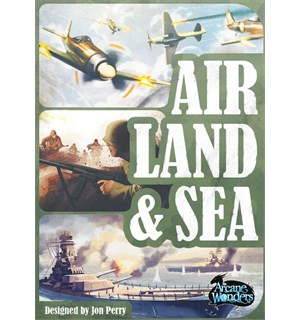 Air Land & Sea Kortspill Revised Edition
