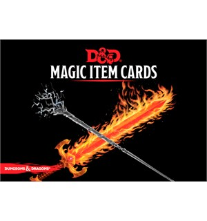 D&D Cards Magic Item Cards Dungeons & Dragons - 292 kort