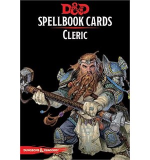 D&D Cards Spellbook Cleric Dungeons & Dragons - 149 kort