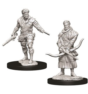 D&D Figur Nolzur Human Rogue Male Nolzur's Marvelous Miniatures - Umalt