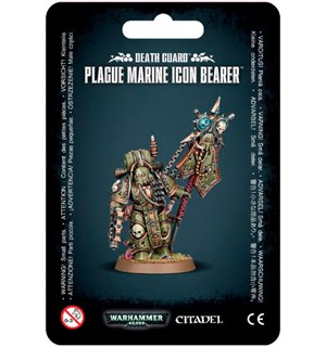 Death Guard Plague Marine Icon Bearer Warhammer 40K