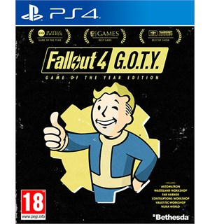 Fallout 4 GOTY Edition PS4 Game of the Year Edition