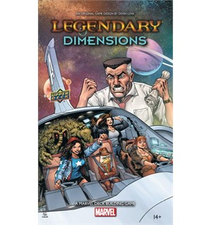 Legendary Marvel Dimensions Expansion Utvidelse til Legendary Marvel